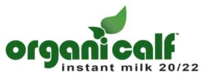 Organi-calf organic calf milk replacer logo